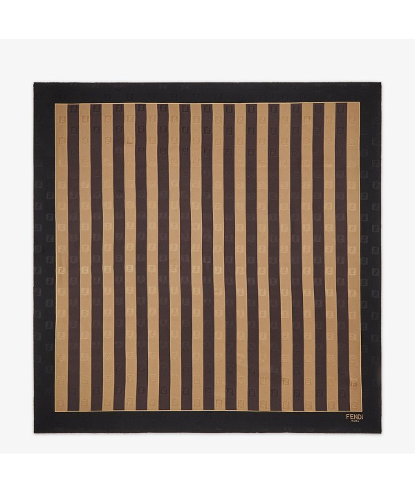 fendi stripe pequin foulard