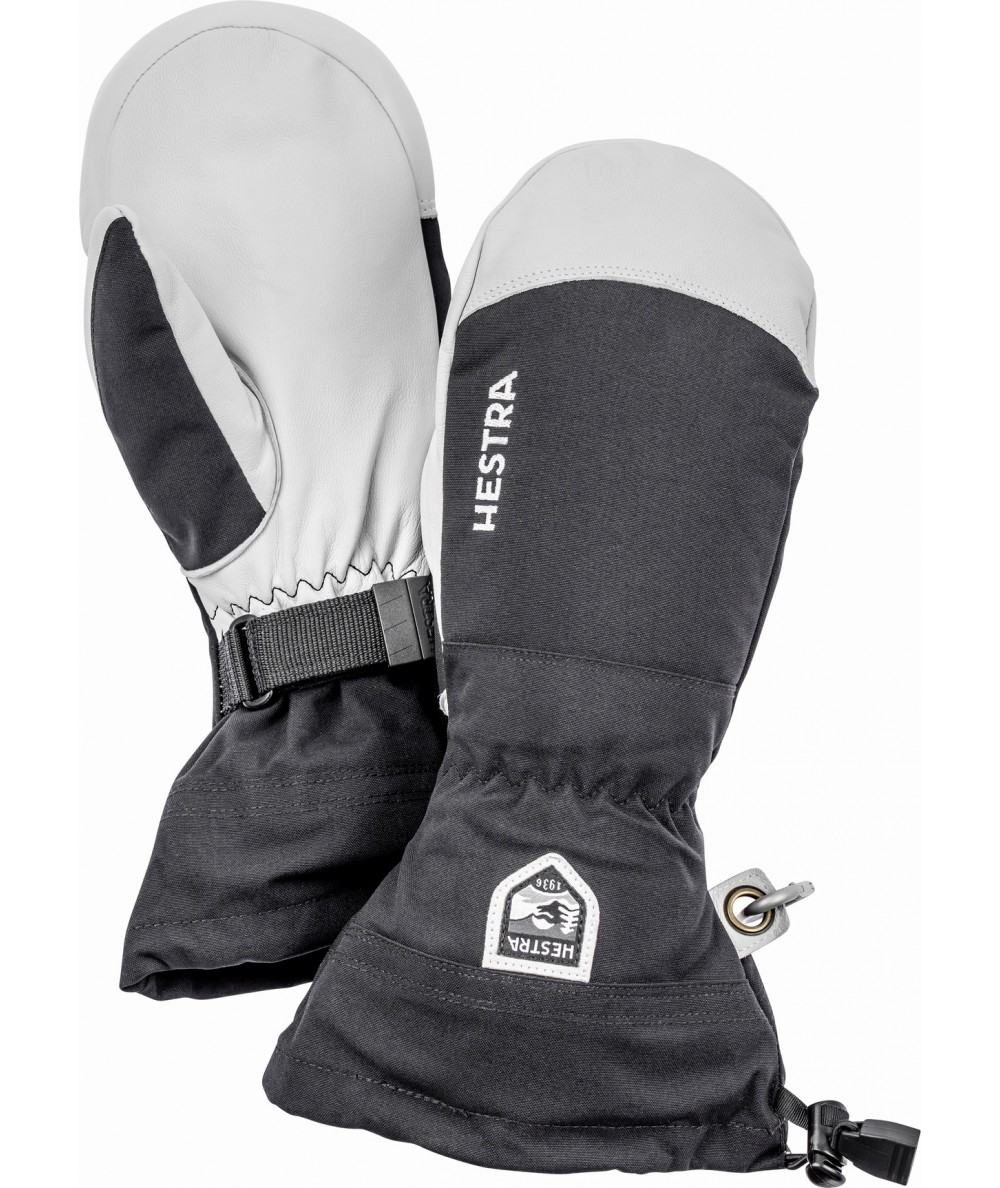 Moufles Ski Army Leather Heli