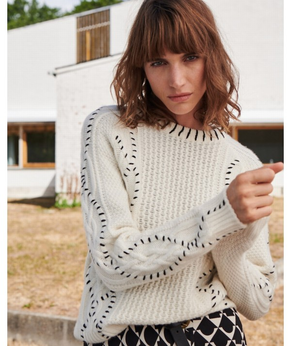 Goldy Stitch Sweater