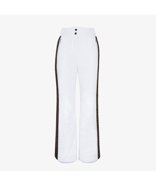 white fendi ski pants