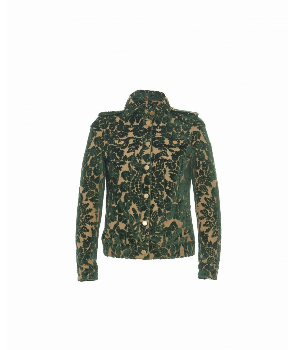Jacquard Slim Coat