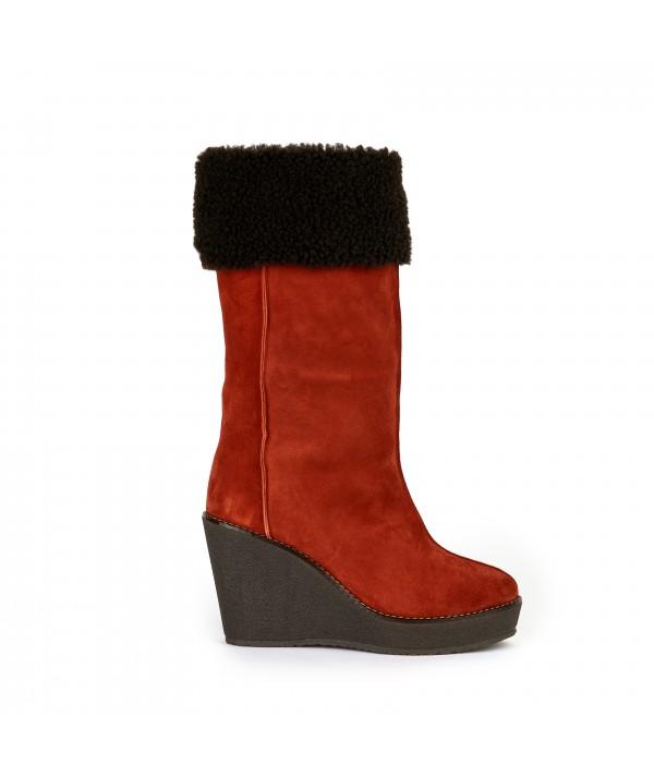 plateform boots camilla skorpios